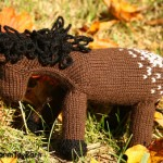 Appaloosa Knit Pony by Funny Farm Toy Barn