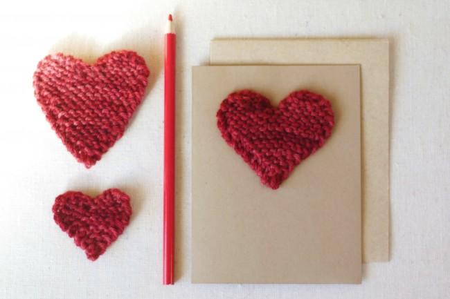 Free Knitting Pattern: Valentine Hearts | Natural Kids Team