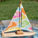 Dreamy Clouds Sailboat by Tweet Toys