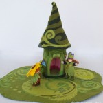 Fern Elf, House and Play Mat by Willodel