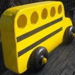 Flying School Bus by Born At Home Toys