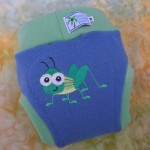 Grasshopper Diaper Cover by WildCoconutWear