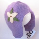 Lavender Cashmere Baby Hat by Sesame Seed Designs