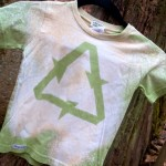 Organic Recycle Shirt by Long Mountain Art