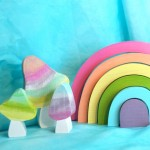 Pastel Rainbow Stacker by The Enchanted Cupboard