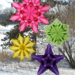 Spring Window Stars by Harvest Moon by Hand
