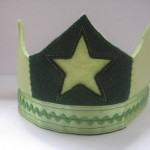 Wool Felt Crown by ziezoDesigns