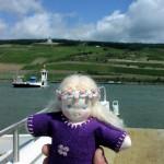doll crossing the Rhein