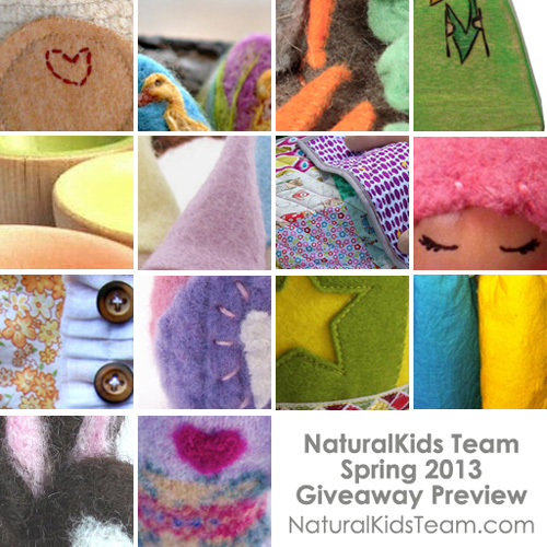 NaturalKids Team Spring Giveaway 2013 Preview
