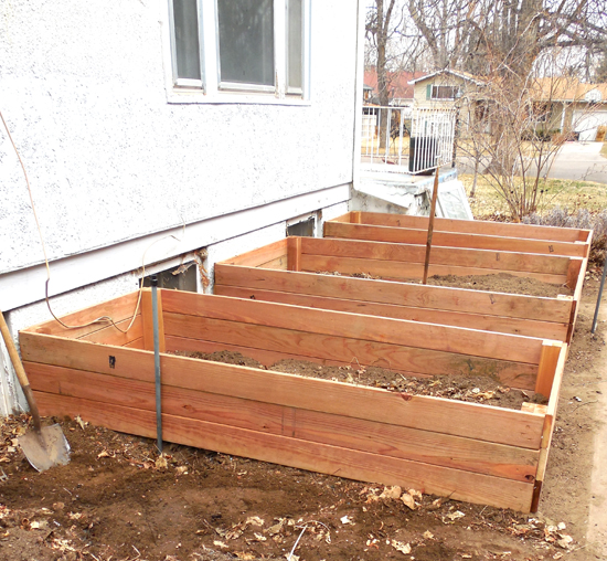 NK raised beds