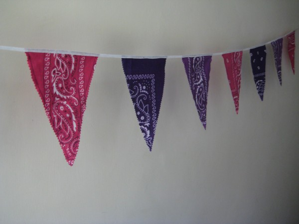 Reusable Bandanna Party Bunting