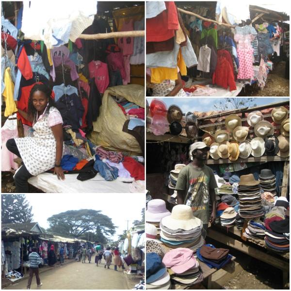 Impressions of Toi Market - A Mitumba Market in Nairobi