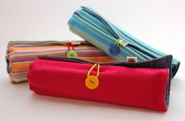 Kikoy & Jeans Pencil Rolls
