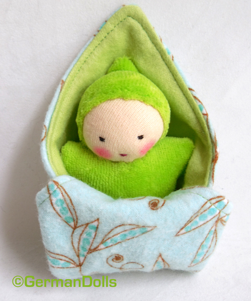 NK green swaddle baby 3 copy