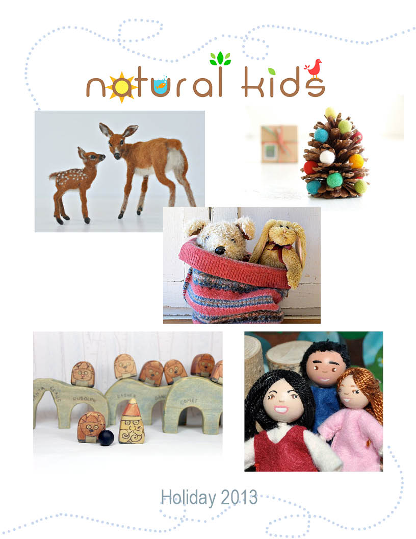 2013 Holiday Guide - Eco-conscious Gifts for the Natural Family | NaturalKidsTeam.com